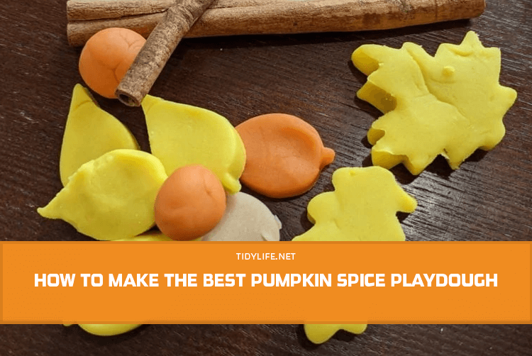 How to Make The Best Pumpkin Spice Playdough