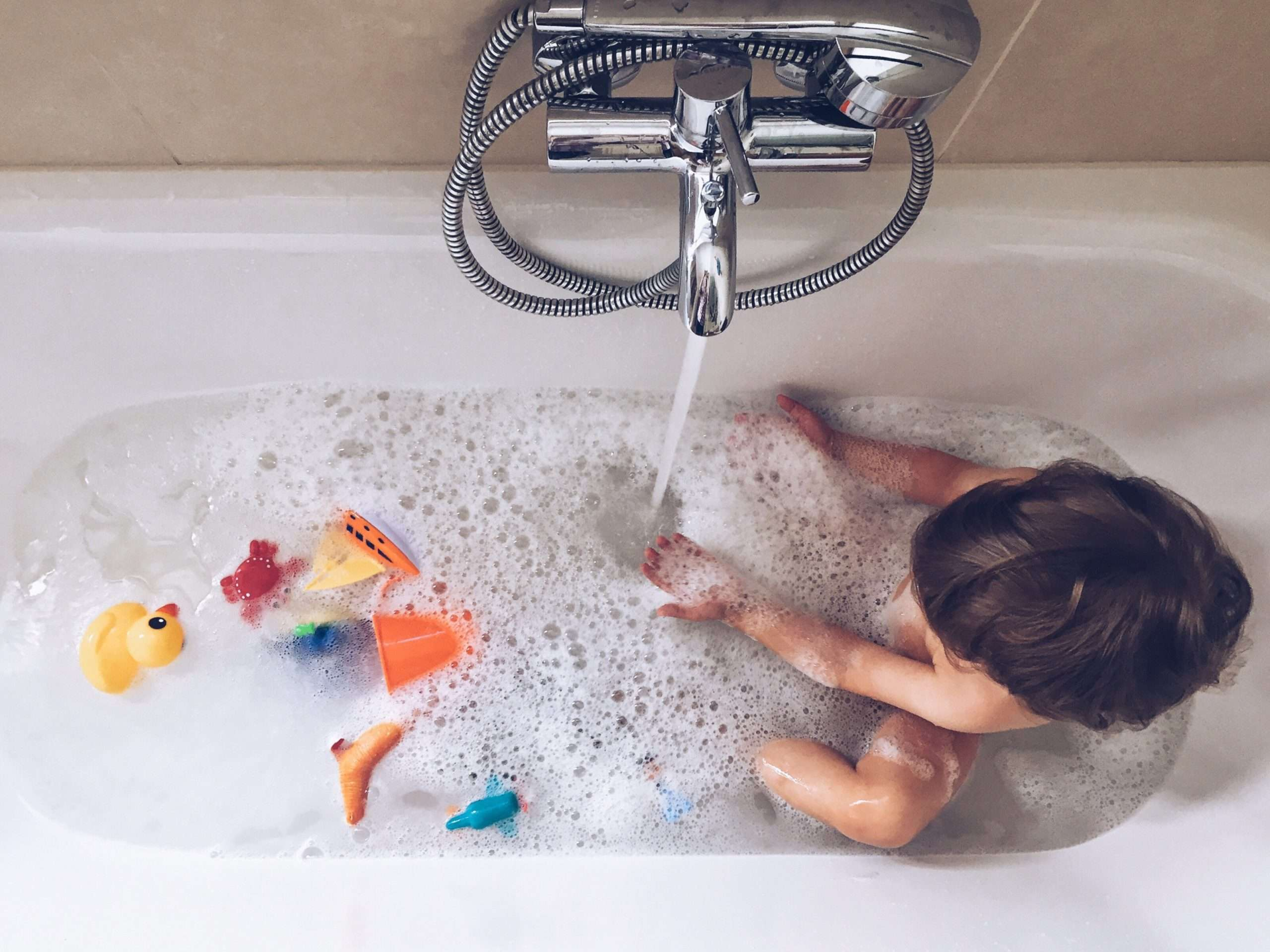 3 Educational Bathtime Activities for Preschoolers