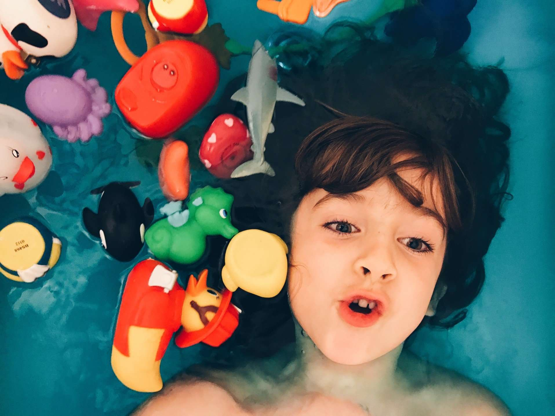 Should You Worry About Mold on Your Kids Bathtub Toys