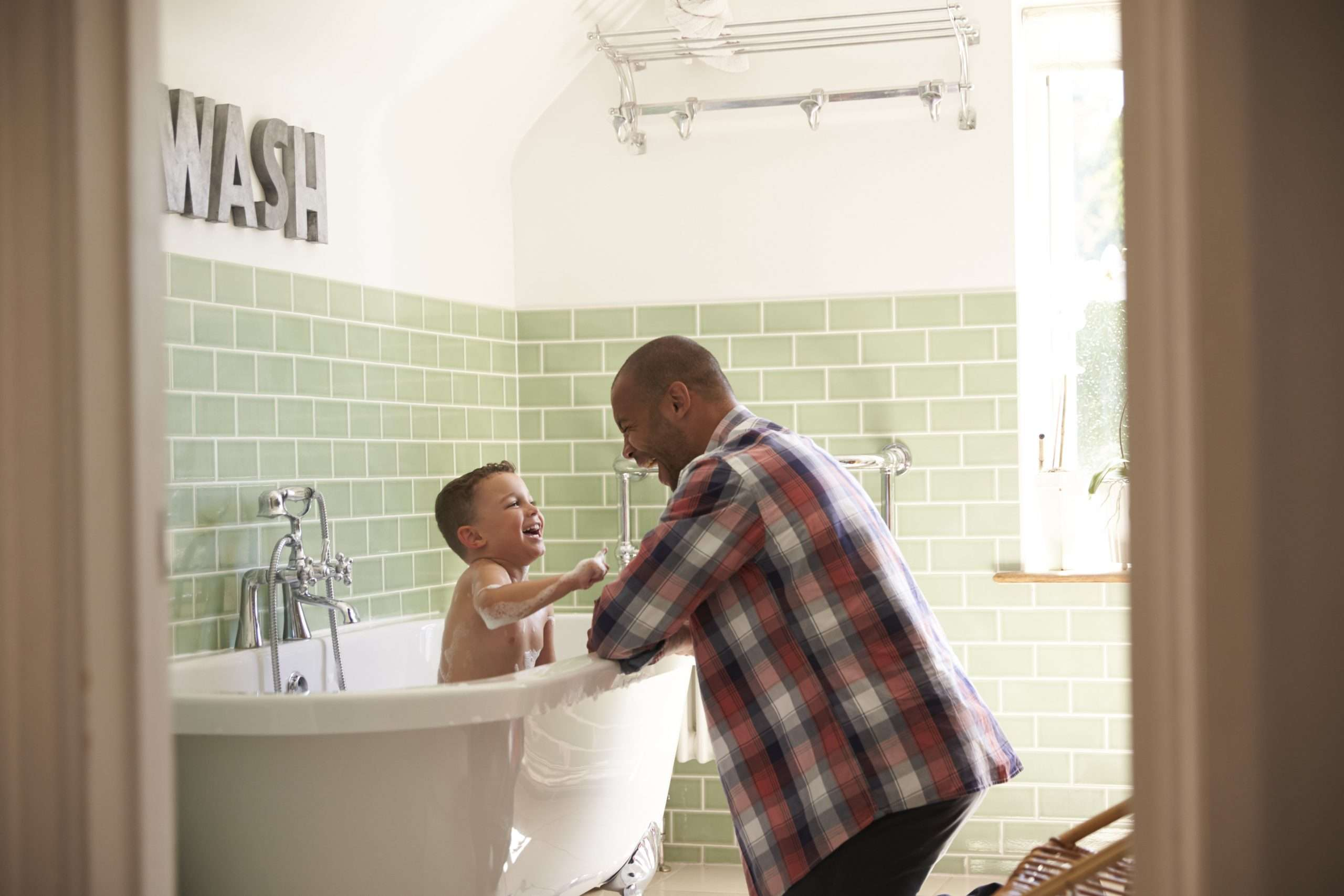 The Importance of Bath Time Routines