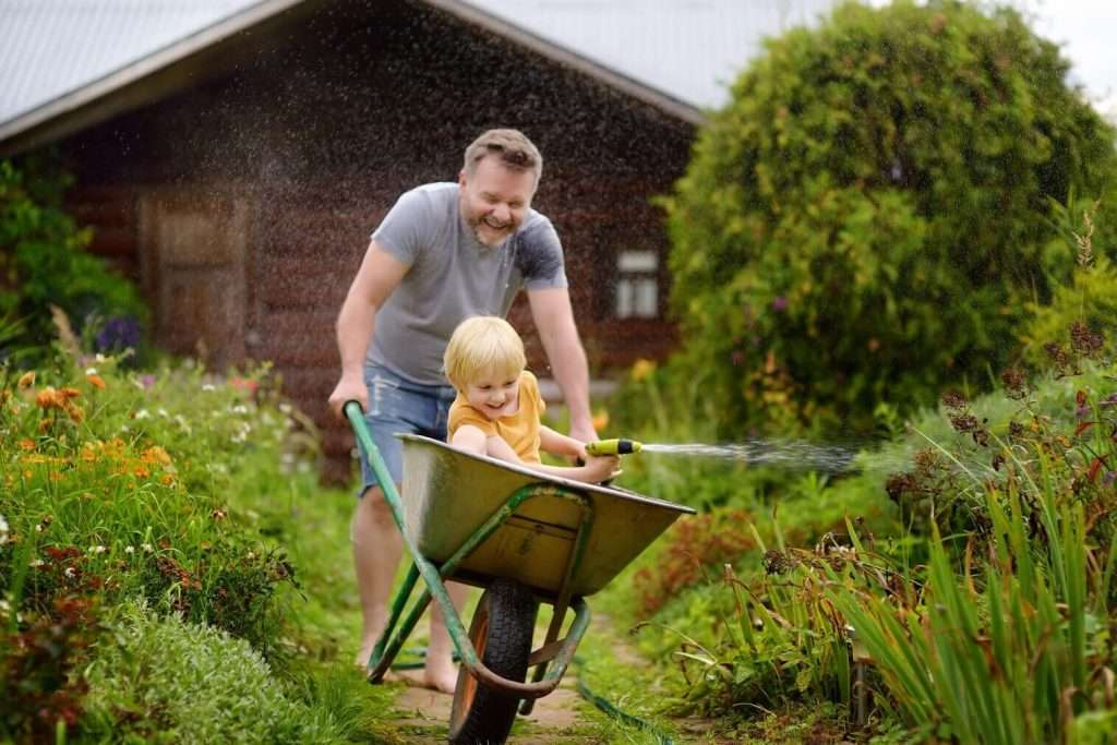 Further improve your gardening experience by remembering to take time to play.
