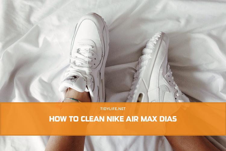 How to Clean Nike Air Max Dias