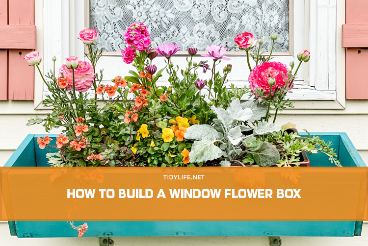 How to Build a Window Flower Box