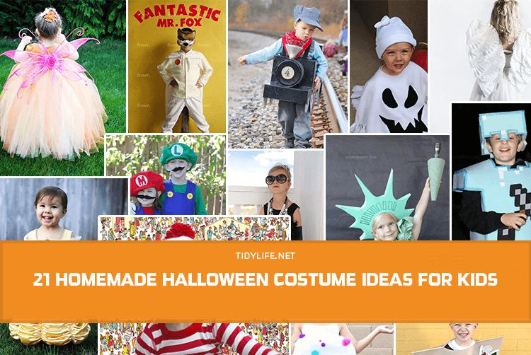 21 Homemade Halloween Costume Ideas for Kids (2021)
